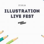В Facebook проведут первый онлайн-фестиваль иллюстрации Illustration LIVE fest