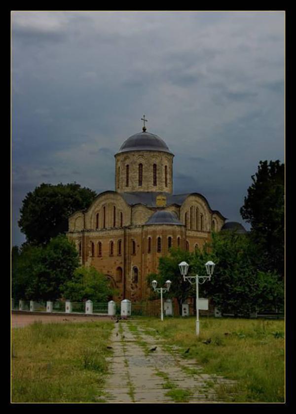 Овруч. Храм Василия