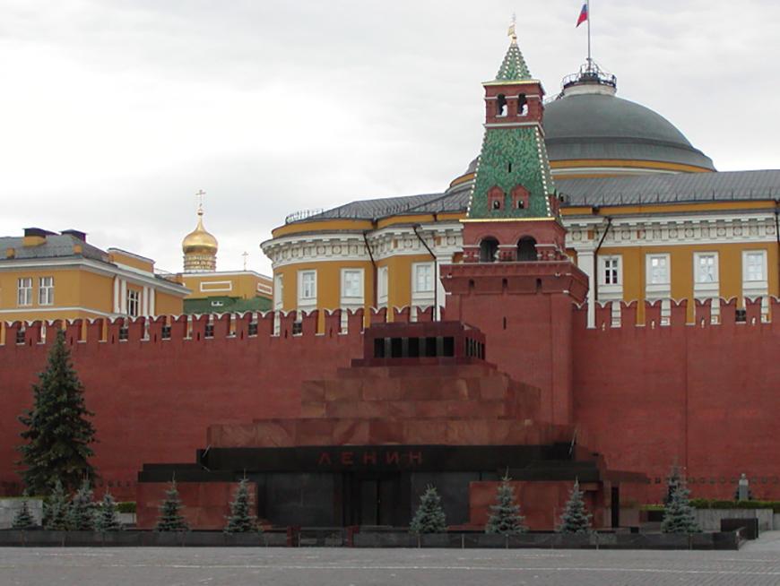 Мавзолей Ленина на Красной площади