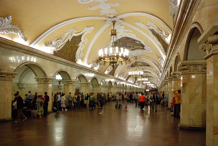Станция «Комсомольская-кольцевая»