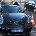 Во Франции полиция взорвала Porsche припаркованное в неположенном месте