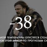 Цифра дня: температура этой зимой в Молдове
