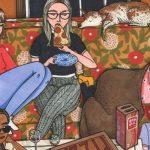 Тайная жизнь девушек в иллюстрациях Салли Никсон