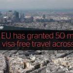 В 2017 году Евросоюз отменит визы для граждан Украины и Грузии