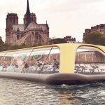 В Париже может появиться плавучий фитнес-зал