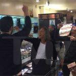 Metallica выступила в одном из супермаркетов США