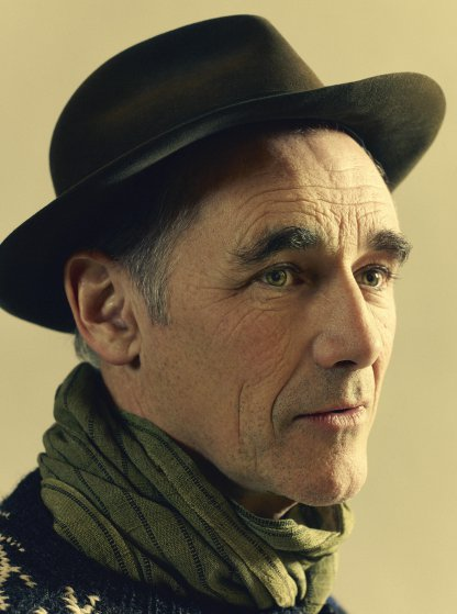 Mark Rylance photographed in New York on March 21, 2016.