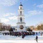Православные христиане Молдовы празднуют Крещение