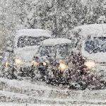 11 января объявлен жёлтый код опасности из-за обильных снегопадов
