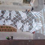 Монреальский художник создаёт свои работы прямо на дорогах