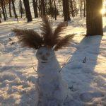 #localsmd — снеговики выходного дня в Инстаграме