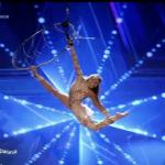 "Acrobații la ""Românii Au Talent"", de la moldoveanca Diana Boiachin"