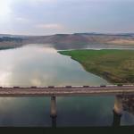Реки и холмы Молдовы с высоты птичьего полёта