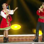 """Olesea Nespeac a  cu succes dans tradițional rusesc la """"Uite Cine Dansează"""""""