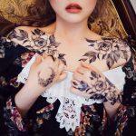 Reindeer Ink: Цветочные татуировки для девочек корейской художницы Зихва Хонгдае