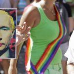 В России изображение Путина с макияжем признали экстремистским