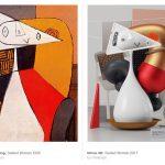 3-мерные интерпретации картин Пабло Пикассо в работах Омара Акиля