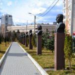 Прогулки по Кишинёву: Аллея врачей