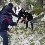 #lopatachallenge: Кишинёвцы вышли на помощь городу