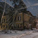 Снежный Армагеддон: Ночной Кишинёв Максима Чумаша