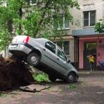 В Москве сильнейший ураган
