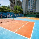 В Кишиневе в Республиканской специализированной школе тенниса открыли корт для самых маленьких