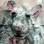 Полезный стрит-арт: Художник создает скульптуры животных из мусора