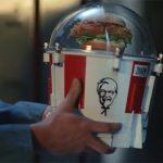 KFC запустит свой бургер в стратосферу