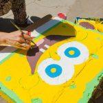 """""""Sponge Bob"""" — pictură urbană creată de Chisinau Is ME"""