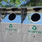 В парке Валя Морилор установили новые контейнеры для раздельного сбора мусора