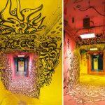 100 граффити-художников превратили Университетский городок Парижа в стрит-арт объект