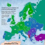По показателю IQ Молдова «плетется в хвосте» Европы