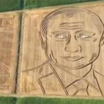 В Италии фермер «нарисовал» портрет Путина на пшеничном поле