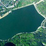 Фото дня: Озеро в парке Валя Морилор с высоты птичьего полета