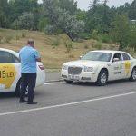 В день запуска сервиса Яндекс.Такси полиция оштрафовала нескольких водителей