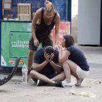 В Барселоне произошёл теракт. Микроавтобус въехал в толпу людей