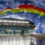 Шедевры подземной урбанистики метро
