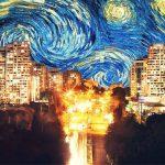 Кишинёв + знаменитые картины — художественный микс в работах Лучии Кодряну