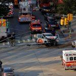 В Нью-Йорке террорист совершил наезд на пешеходов и велосипедистов. 8 погибших