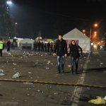 После празднования Дня города в центре осталось 1300 кубометров мусора