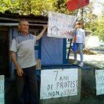 Протест всё: Сарай на Букурешть у Дворца Республики сносят, Тудору Пынзарь выделили дом в Каушанах