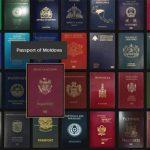 Молдавский паспорт оказался в середине рейтинга самых сильных паспортов в мире