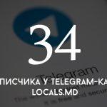 Цифра дня: сколько подписчиков у Telegram-канала locals.md