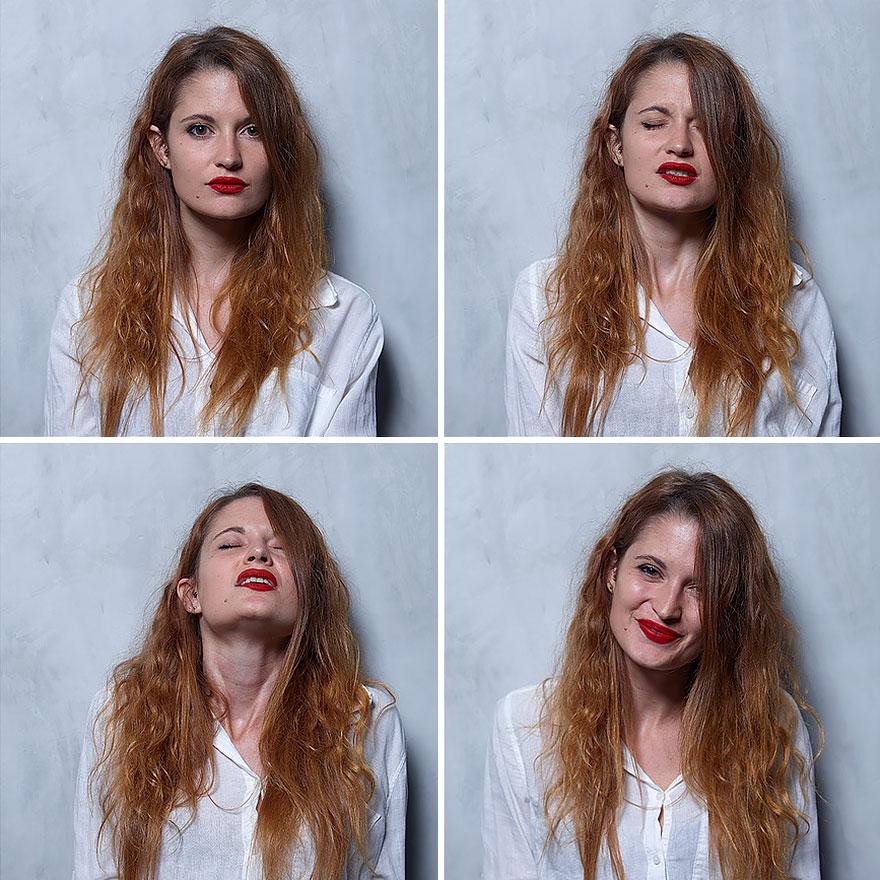 Фотографии лиц людей во время оргазма