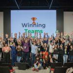 Finalul de pe scena Startup Weekend Moldova ediția a IX-a: 11 idei, 11 pitch-uri și 3 câștigători