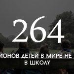 Цифра дня: сколько детей в мире не ходит в школу