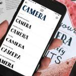 Что за шрифт: Monotype выпустила приложение для определения шрифтов по фотографиям