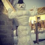 Местные снеговики в инстаграм #localsmd