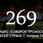 Цифра дня: сколько пожаров произошло в Молдове с начала года