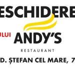 14 февраля на Штефан чел Маре Andy's открывает ресторан нового формата